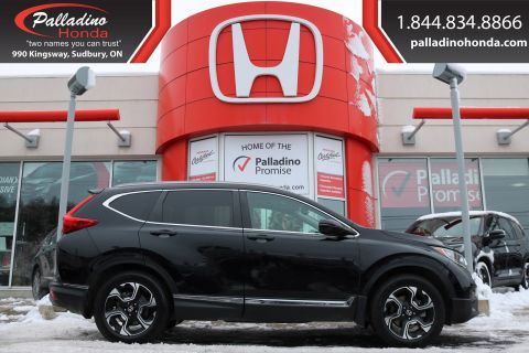 Pre-Owned 2017 Honda CR-V Touring-ALL WHEEL DRIVE, NAVIGATION, HEATED LEATHER SEATS
