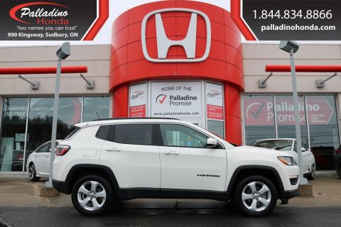 Pre-Owned 2018 Jeep Compass North-4 WHEEL DRIVE,KEYLESS START,SATELLITE RADIO