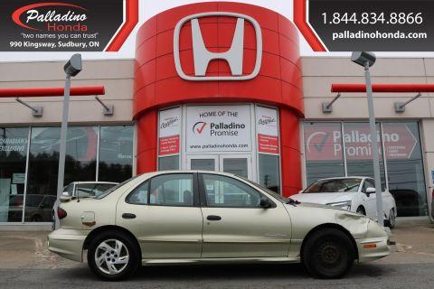 Pre-Owned 2002 Pontiac Sunfire SE-SELF CERTIFY