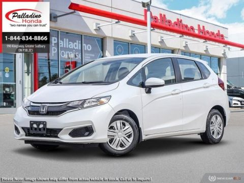 New 2019 Honda Fit LX w/Honda Sensing