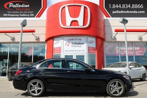 Pre-Owned 2016 Mercedes-Benz C-Class C 300-LOW MILES,TURBO CHARGED,ALL WHEEL DRIVE
