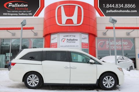 Pre-Owned 2016 Honda Odyssey EX-KEYLESS START,THIRD ROW SEATING,SMARTPHON INTEGRATION