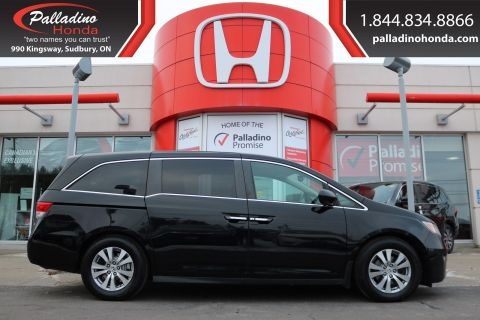 Pre-Owned 2015 Honda Odyssey EXL-THIRD ROW SEATS,NAVIGATION,HEATED LEATHER SEATS