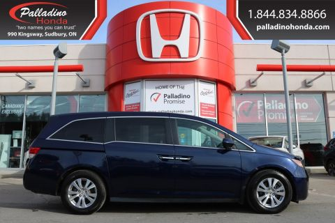 Pre-Owned 2017 Honda Odyssey EX-L-LOW MILES,3rd ROW SEATING,REAR ENTERTAINMENT SYSTEM FWD Mini-van, Passenger