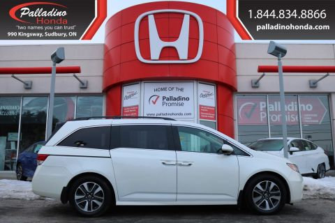 Pre-Owned 2014 Honda Odyssey Touring-NAVIGATION,ENTERTAINMENT SYSTEM,SATELLITE RADIO