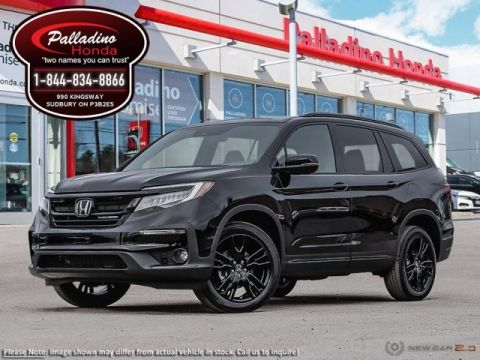 New 2019 Honda Pilot Black Edition