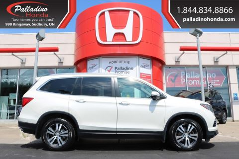 Pre-Owned 2016 Honda Pilot EX-L-LOW MILES,SMARTPHONE INTEGRATION,ALL WHEEL DRIVE