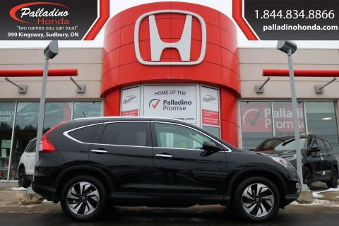 Pre-Owned 2016 Honda CR-V Touring-ALL WHEEL DRIVE, Honda SENSING,HEATED LEATHER SEATS
