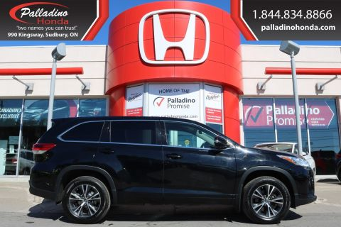 Pre-Owned 2017 Toyota Highlander LE-ALL WHEEL DRIVE,3rd ROW SEATING,BACKUP CAMERA