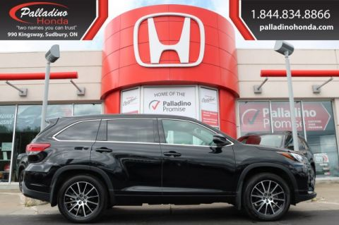 Pre-Owned 2018 Toyota Highlander SE-LOW MILES,3rd ROW SEATS,LEATHER
