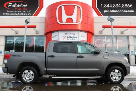 Pre-Owned 2012 Toyota Tundra SR5-CERTIFIED
