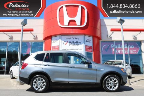 Pre-Owned 2014 BMW X3 xDrive28i-ALL WHEEL DRIVE,TURBOCHARGED,BLUETOOTH