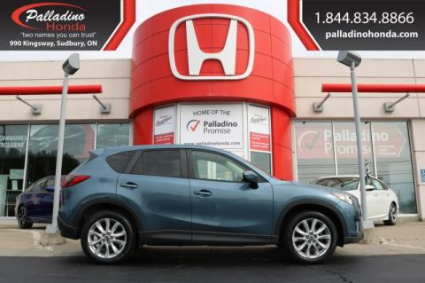 Pre-Owned 2015 Mazda CX-5 GT-ALL WHEEL DRVE,BLUETOOTH,BACKUP CAMERA