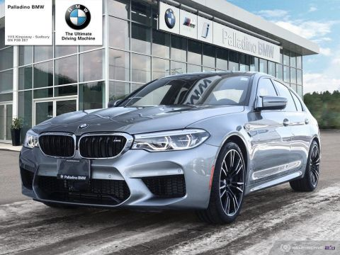 Certified Pre-Owned 2018 BMW M5 SEDAN